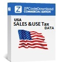 Picture of Sales & Use Tax Database, Commercial Edition