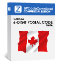 Picture of Canada - 6-digit Postal Code Data, Commercial Edition