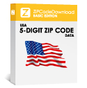 Picture of USA - 5-digit ZIP Code Database, Basic Edition (Redistribution License)
