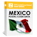 Picture of Mexico - 5-digit Postal Code Database, Premium Edition (Redistribution License)