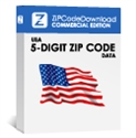 Picture of USA - 5-digit ZIP Code Database, Commercial Edition