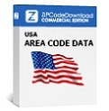 Picture of Area Code Database NPA NXX, Commercial Edition
